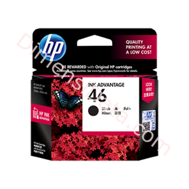 Jual Tinta / Cartridge HP Black Ink  46 [CZ637AA]